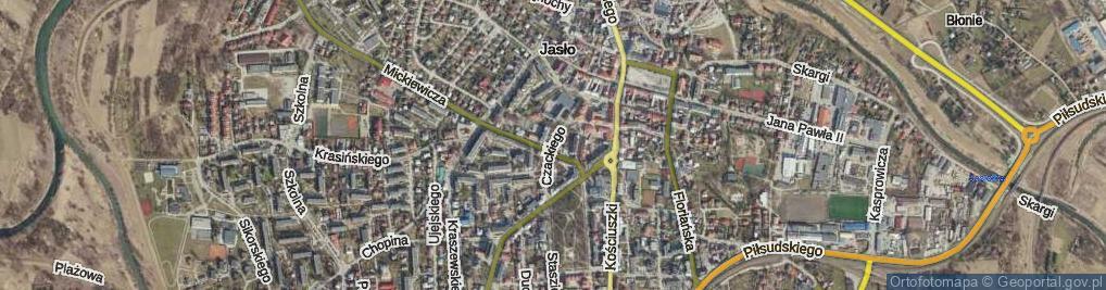 Zdjęcie satelitarne Czackiego