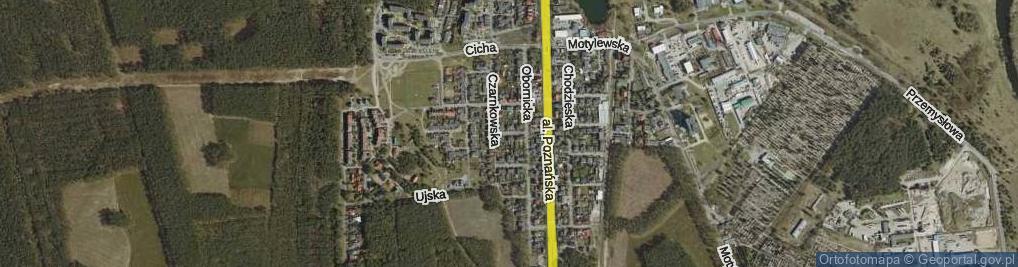 Zdjęcie satelitarne Czarnkowska ul.
