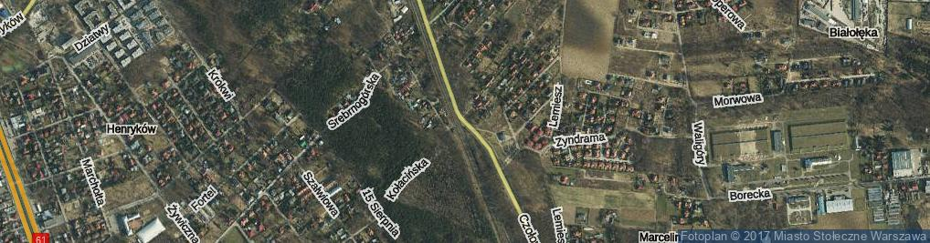 Zdjęcie satelitarne Czołowa