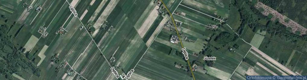 Zdjęcie satelitarne Dębica