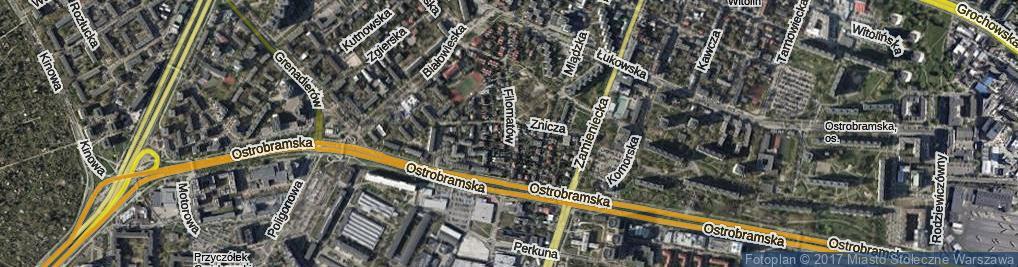 Zdjęcie satelitarne Filomatów