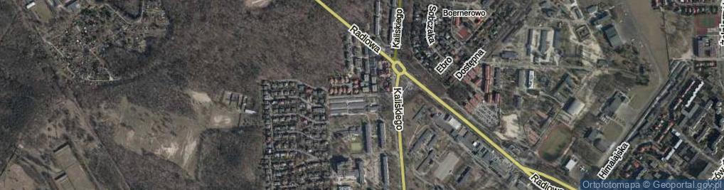 Zdjęcie satelitarne Gąsiorowskiego Wacława