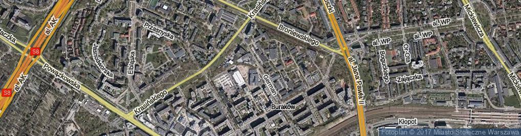 Zdjęcie satelitarne German Anny ul.