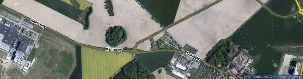 Zdjęcie satelitarne Golczewo ul.