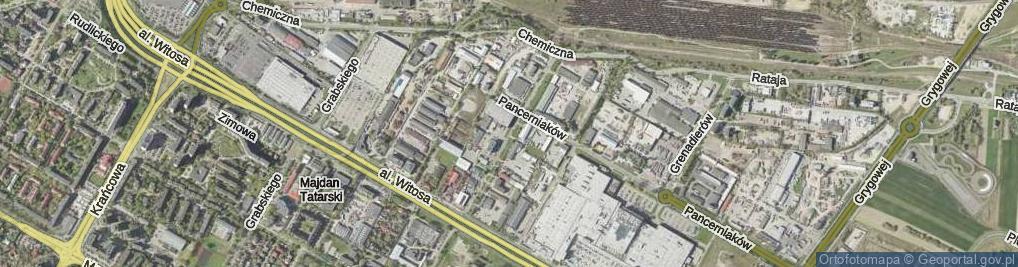 Zdjęcie satelitarne Herc Lucyny ul.