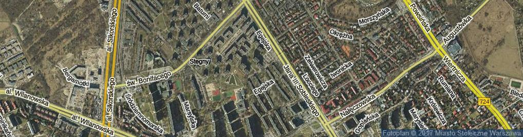 Zdjęcie satelitarne Iberyjska