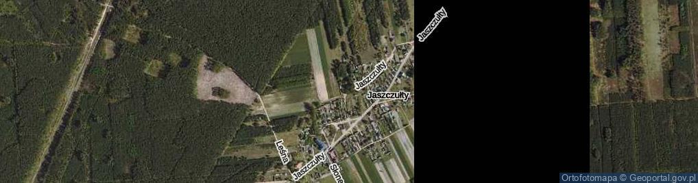 Zdjęcie satelitarne Jaszczułty ul.