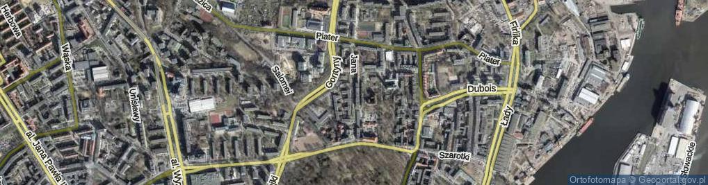 Zdjęcie satelitarne Jana Kazimierza ul.