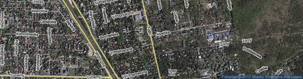 Zdjęcie satelitarne Kajki Michała