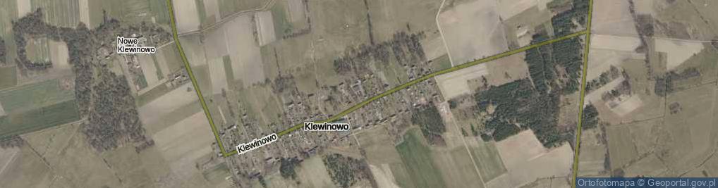 Zdjęcie satelitarne Klewinowo ul.
