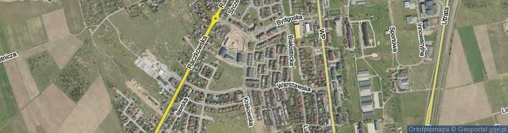 Zdjęcie satelitarne Konińska ul.