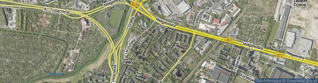Zdjęcie satelitarne Kresowa