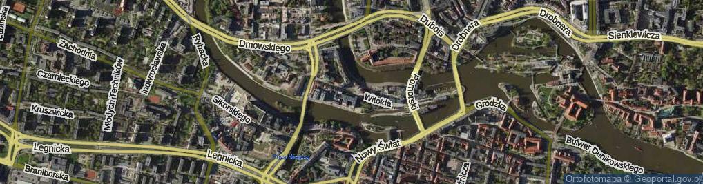 Zdjęcie satelitarne Księcia Ziemowita ul.