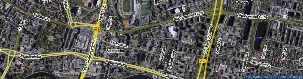 Zdjęcie satelitarne Kurpińskiego Karola