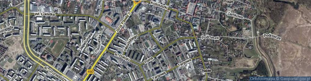Zdjęcie satelitarne Leszka Czarnego