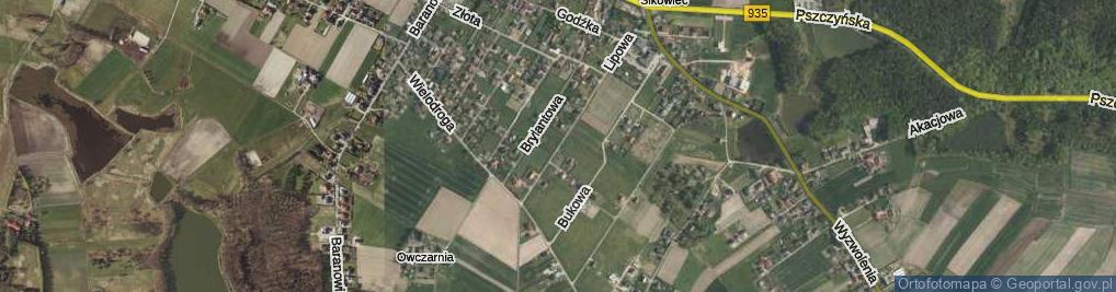 Zdjęcie satelitarne Lipowa