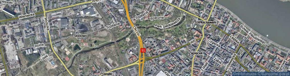 Zdjęcie satelitarne Lunewil ul.
