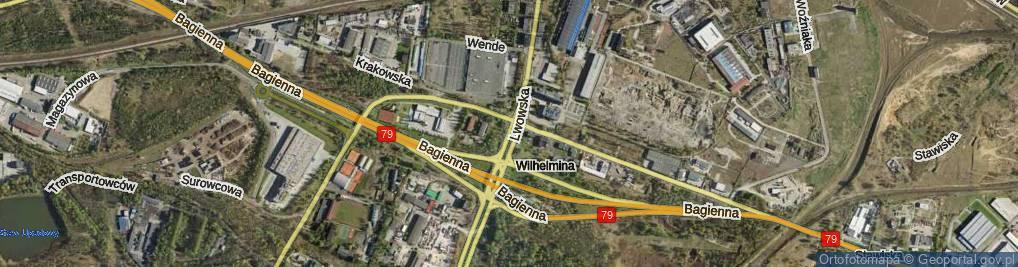 Zdjęcie satelitarne Lwowska