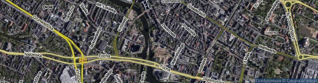 Zdjęcie satelitarne Marcinkowskiego Karola