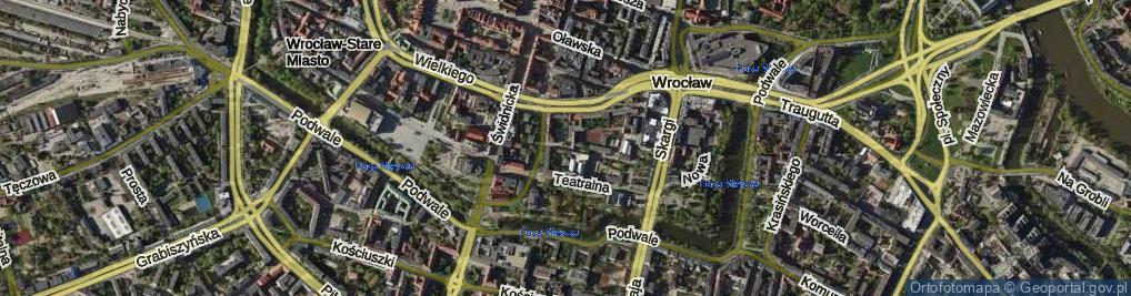 Zdjęcie satelitarne Mennicza