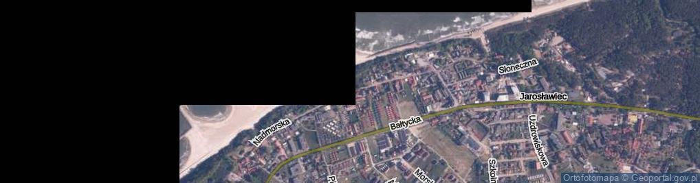 Zdjęcie satelitarne Nadmorska