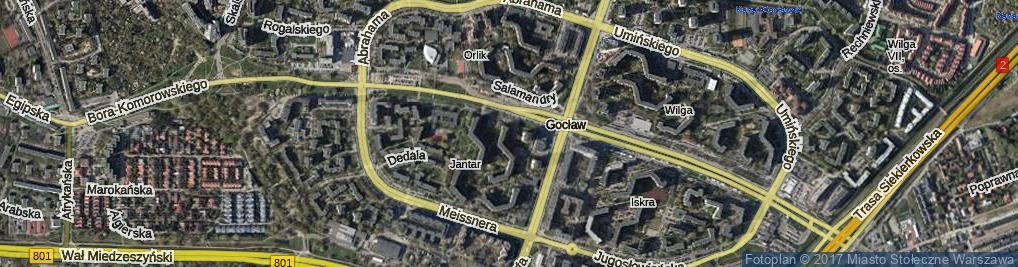 Zdjęcie satelitarne Nagórskiego Jana
