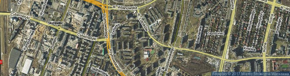 Zdjęcie satelitarne Niegocińska ul.