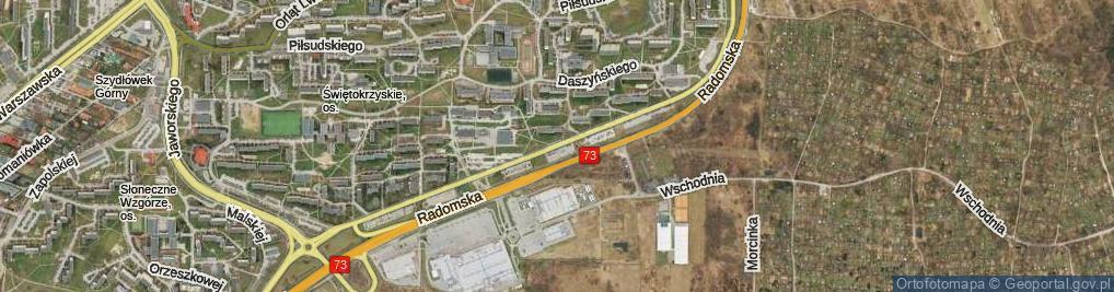 Zdjęcie satelitarne Nowaka Jeziorańskiego Jana