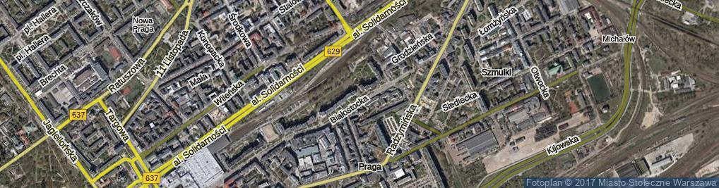 Zdjęcie satelitarne Nowolazurowa