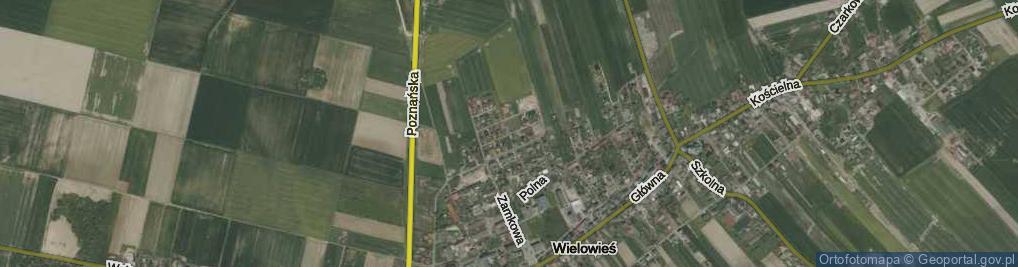 Zdjęcie satelitarne Ogrodowa