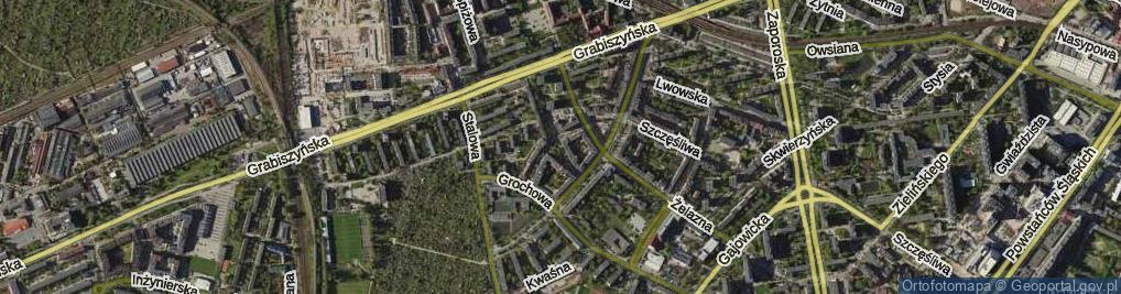 Zdjęcie satelitarne Ołowiana
