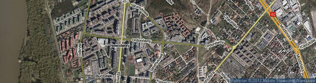 Zdjęcie satelitarne Ordonówny Hanki
