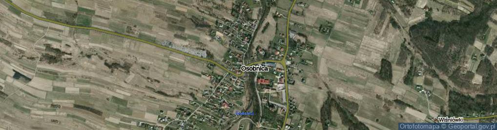 Zdjęcie satelitarne Osobnica ul.