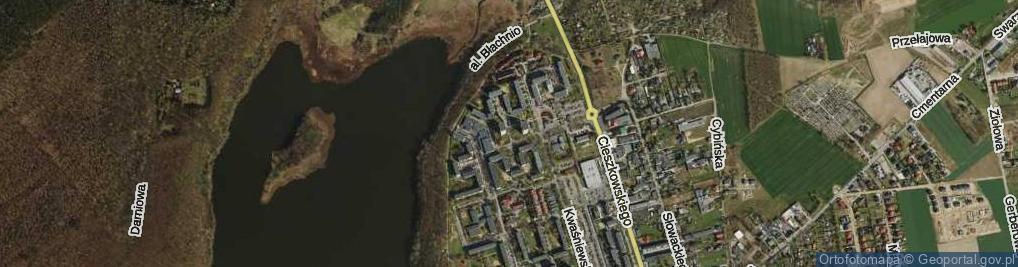 Zdjęcie satelitarne Osiedle Kościuszkowców os.