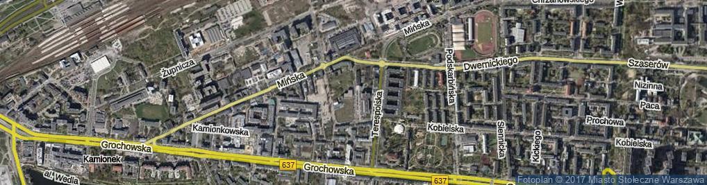 Zdjęcie satelitarne Owsiana