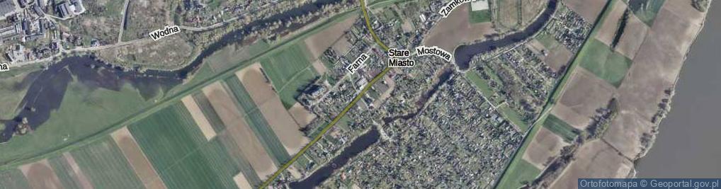 Zdjęcie satelitarne PCK ul.