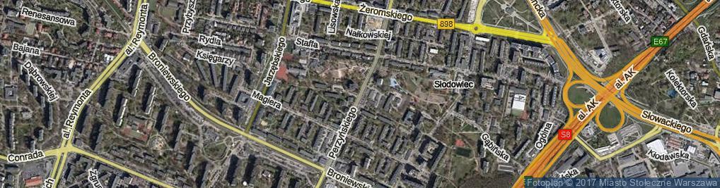 Zdjęcie satelitarne Perzyńskiego Włodzimierza