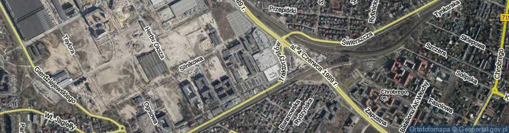 Zdjęcie satelitarne Plac Czerwca 1976 Roku pl.