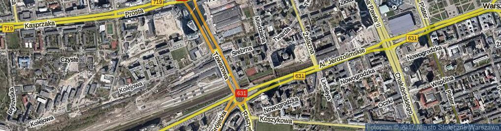 Zdjęcie satelitarne Platynowa