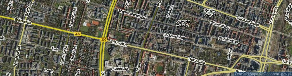 Zdjęcie satelitarne Polna