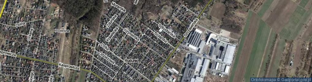 Zdjęcie satelitarne Robotnicza