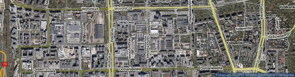 Zdjęcie satelitarne Samochodowa ul.