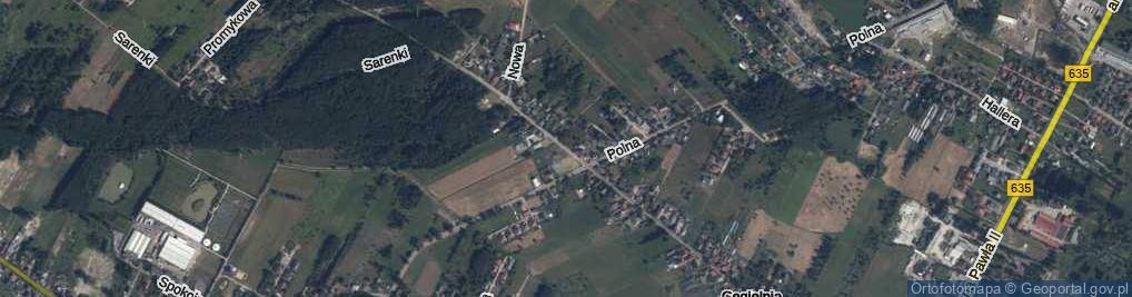 Zdjęcie satelitarne Sikorskiego Władysława, gen.