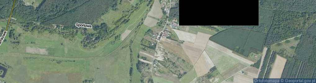 Zdjęcie satelitarne Skała ul.