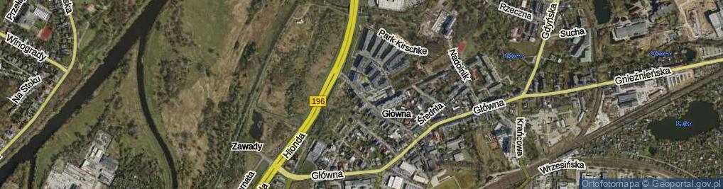Zdjęcie satelitarne Smolna ul.