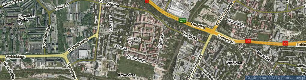 Zdjęcie satelitarne Solskiego Ludwika
