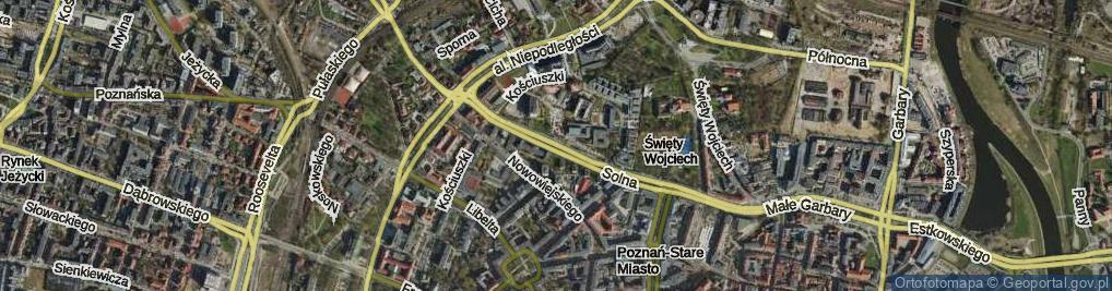 Zdjęcie satelitarne Solna