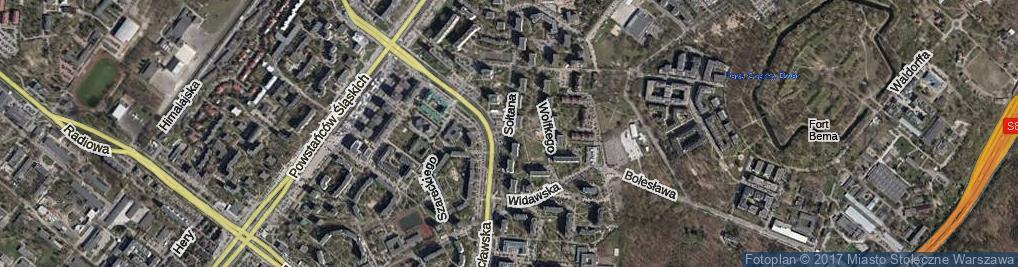 Zdjęcie satelitarne Sołtana Andrzeja ul.