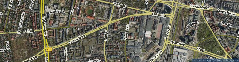 Zdjęcie satelitarne Stolarska ul.