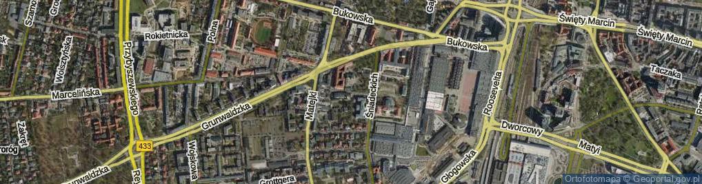 Zdjęcie satelitarne Stolarska